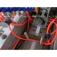 Quality Pvc edge banding Plastic Sheet Extrusion Line printing , thickness 17-45mm for sale
