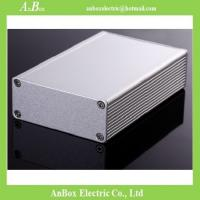 Wholesale 100x66x27mm 6063 t5 extruded aluminum box for instrument  wholesale and retail from china suppliers