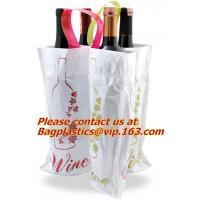 Wholesale Customized low price promotional eco-friendly pvc soft loop handle plastic bag from china suppliers