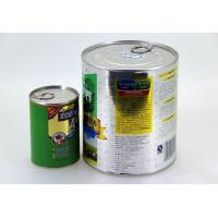 Wholesale Large food grade easy open end tinplate cans , cookies / tea storage tin from china suppliers