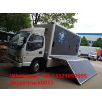 Wholesale China famous JAC brand 4*2 P6 outdoor mobile LED advertising truck for sale, hot sale JAC P6 LED billboard vehicle from china suppliers