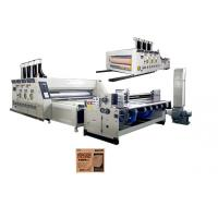 Wholesale Auto 3 Colors Die Cut Printing Machine / Corrugated Box Printing Machine from china suppliers