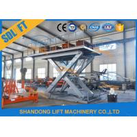 Wholesale Easy Operation Vehicle Scissor Lift Car Lifts For Home Garage Multi Color from china suppliers