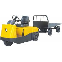 Wholesale Three wheel electric tower tractor with safety seat from china suppliers