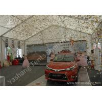 Wholesale 15X15M 850gsm PVC Fabric Cover Uvioresistant Outdoor Car Exhibition Tent from china suppliers