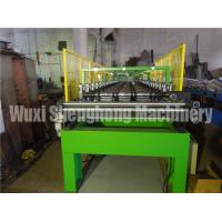Wholesale Hydraulic Powered Uncoiler Metal Roofing Forming Machine , Roof Sheet Making Machine from china suppliers
