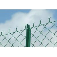 Buy cheap Commercial 9 Gauge - 12 Gauge Chain Link Wire Mesh System For Road Fence from wholesalers