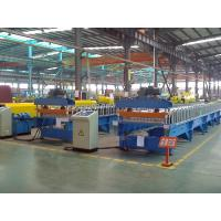 Wholesale 13 Stations Trapezoid Wall Panel Roll Forming Machine with 1.2 Inch Single Chain Drive from china suppliers