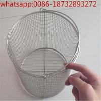 Wholesale Stainless Steel 304 Sterilization Wire Mesh Basket With Lid for Surgical Instruments/Tray  Sterilizer Mesh Bask from china suppliers