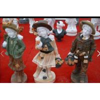 Wholesale Garden colored stone child statue from china suppliers
