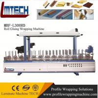 Wholesale PVC film profile wrapping machine for sliding door/ moved door from china suppliers