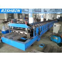 Wholesale Manual Decoiler Comflor Deck Roll Forming Machine with 80 mm Shaft Diameter from china suppliers