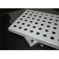 Wholesale Outdoor Decorative Aluminum Perforated Metal Acoustic Panels Powder Coated from china suppliers