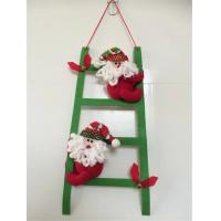 Wholesale Christmas santa climbing ladder from china suppliers