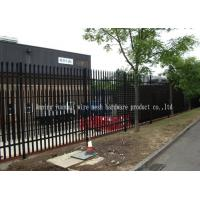 Wholesale Free Standing Edging Metal Palisade Fencing With Base Plates For Bolt Down from china suppliers