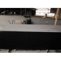 Quality Chinese Mongolia Black Granite Slab for Construction for sale