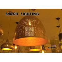 Wholesale MASO Corrosive Iron Art Effect Pendant Lamp Black Gold Vintage Color Finished MS-P5001 E27 Heat-resistant Plastic Holder from china suppliers