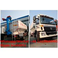 Wholesale factory sale good price customized FOTON 190hp 8tons-12tons farm-oriented and livestock poultry feed delivery truck from china suppliers