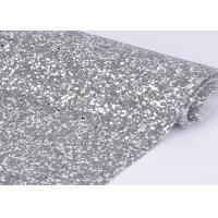 """Wholesale 54"""" Width Silver Glitter Cotton Fabric For Making Shoes Material And Wall Covering from china suppliers"""