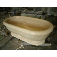 Wholesale Beige Marble Bathtub from china suppliers