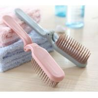 Wholesale Foldable soft tooth travelling comb from china suppliers