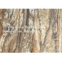 Wholesale Dark Color PET Heat Transfer Foil Faux Marble Roll For PS Material Board from china suppliers