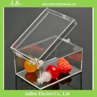 Wholesale Poly Carbonate rectangle transparent gift box plastic transparent box with lid for packing from china suppliers