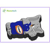 Wholesale Animal Customized USB Flash Drive , Elephant Cartoon USB Flash Drive from china suppliers