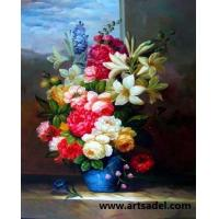 Wholesale 100% Handmade Classic Flower Oil Painting On Canvas from china suppliers