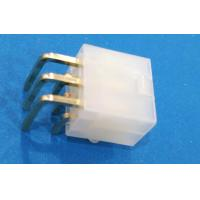 Buy cheap Conn 6pos Header Connector With Plastic Post Dual Row Gold Plated from wholesalers