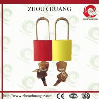 Wholesale China Supplier Best Selling New Product with different sizes beautiful performarance Aluminium Padlock from china suppliers