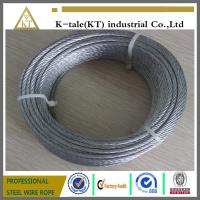 Wholesale promotional price suitable for Marine Hardware 304 stainless steel wire rope from china suppliers