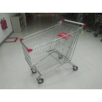 Wholesale 240L Supermarket Shopping Carts With PPG Powder / Anti UV Plastic Parts from china suppliers