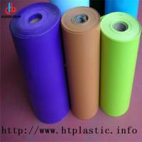 Wholesale colorful HIPS  flocked rolls for vacuum forming  packing from china suppliers