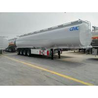 Quality tri-axle stainless 40000 litres road fuel tanker trailer for dimensions for sale