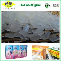 Wholesale EVA Resin Hot Melt Adhesive / Book Binding Adhesive Glue For Straw Drinking Box from china suppliers
