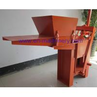 Wholesale Low Cost to Build House 2-40 Manual Clay Brick Pressing Machine Block Making Machine from china suppliers