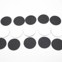 Wholesale Heavy duty self adhesive hook & loop precut pieces squares dots and coins from china suppliers
