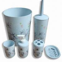 Wholesale 6 Pieces Bath Set, Available in Various Printing Design from china suppliers