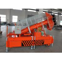 Quality Portable Telescopic Hydraulic Lift Ladder , Vertical Mobile Hydraulic Lift Platform for sale