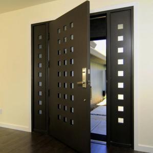 Wholesale USA Villa Main Entry Door Modern Design Pivot Wooden Doors from china suppliers