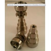 Wholesale Titanium Nail Universal 6 In 1 Domeless 10, 14, & 18mm Male/Female from china suppliers