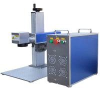 Wholesale fiber laser marking machine EZCAD software and fiber laser 20w stainless steel marking machine manufacture from china suppliers