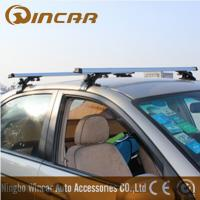 Wholesale 3 In 1 Removable Car Roof Racks , Aluminum roof cross bar for MAZDA MITSUBISHI TOYOTA from china suppliers