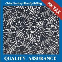 Wholesale Hot selling 100% nylon floral lace fabric for evening dresses;new arrival floral lace fabric;fine floral lace fabric from china suppliers