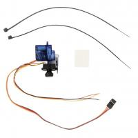 Wholesale 1 Set HMCAM700 NTSC Camera 9 g Servo CC3D Gimbal For FPV New / Mini Gimbal from china suppliers