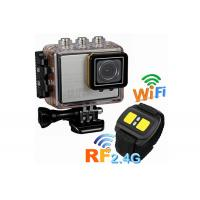 Wholesale Full HD Digital Underwater Sports Camera 30M Waterproof with Built in WIFI 1920 x 1080 P from china suppliers