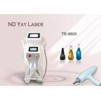 Wholesale E-light RF ND Yag Laser Multifunctional Wrinkle Tattoo Removal Hair Removal Machine from china suppliers