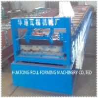Wholesale HT 840 Color Steel Roof Panel Roll Forming Machine With Fully Hydraulic from china suppliers