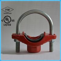 Wholesale Ductile Iron Pipe Fittings  U Bolt MECH. Tee  with FM UL from china suppliers